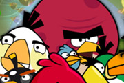 game Angry Birds Maths Test
