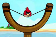 game Angry Birds Sling Shot Fun 2