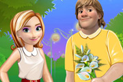 game Anna and Kristoff Valentines Date