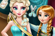 game Anna Tailor for Elsa