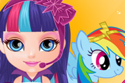game Baby Barbie Little Pony