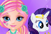 game Baby Barbie Little Pony 2