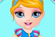 game Baby Barbie Princess Dress Design