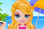 game Baby Barbie Summer Glittery Tattoo