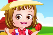 game Baby Hazel Farmer Dressup