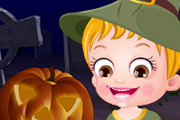 game Baby Hazel Halloween Night