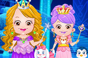 game Baby Hazel Ice Princess Dressup