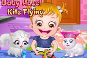 game Baby Hazel Kite Flying
