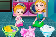 game Baby Hazel Laundry Time