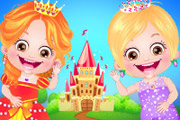 game Baby Hazel Princess Dressup