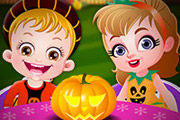 game Baby Hazel Pumpkin Party