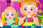 game Baby Hazel Sibling Care