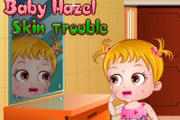 game Baby Hazel Skin Trouble