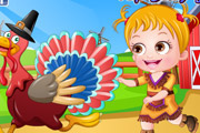 game Baby Hazel Thanksgiving Dressup