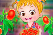 game Baby Hazel Tomato Farming