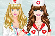 game Barbie And Ellie Med School Prep