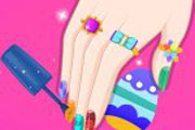 game Barbie Easter Nails Designer
