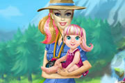 game Barbie Going To Camping