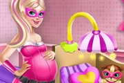 game Barbie Superhero Maternity Room