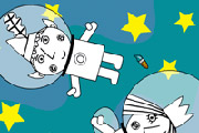 game Ben y Holly Astronautas