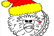 game Chewbacca Christmas Coloring