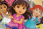 game Dora and Friends Spot the Numbers