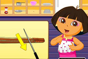 game Dora Cooking Sushi