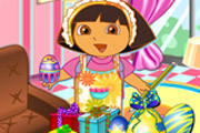 game Dora Design Easter Egg