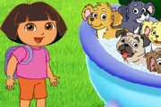 game Dora Puppies