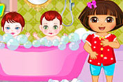game Dora Sibling Care