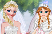 game Elsa And Anna Brides