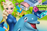 game Elsa Dolphin Show