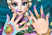 game Elsa Nails Spa