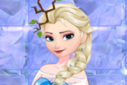 game Elsa Rainy Day