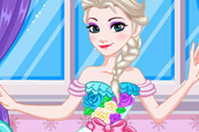 game Elsa Wedding Dress Design