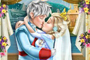game Elsa Wedding Kiss