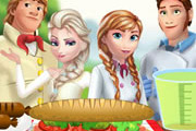 game Frozen Family at The Picnic