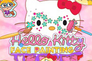 game Hello kitty Face Painting