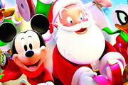 game Mickey and Santa Christmas