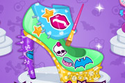 game Monster High Design School Shoes