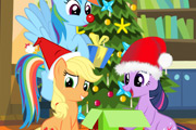 game My Little Pony Christmas Disaster