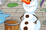 game Olaf Cleans Arendelle
