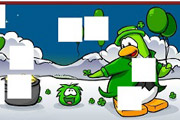 game Penguin Club St Patrick Day Puzzle