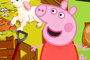 game Peppa Pig Feed The Animals