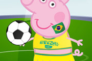 game Peppa Pig World Cup Dress Up