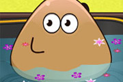 game Pou Bathing