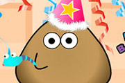 game Pou Happy Birthday