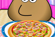game Pou Pizza Cooking