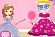 game Sofia Transforming Angela in a Princess