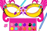 game Super Barbie Mask Designer